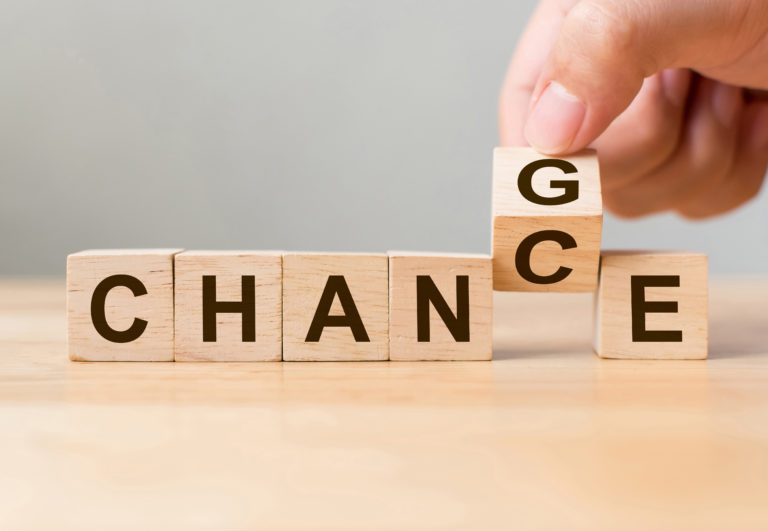 transformation is key_change is a chance